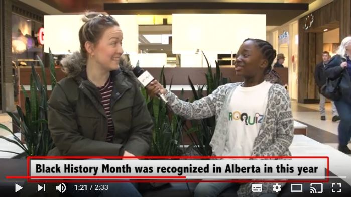 AfroQuiz asks black history month questions in Edmonton