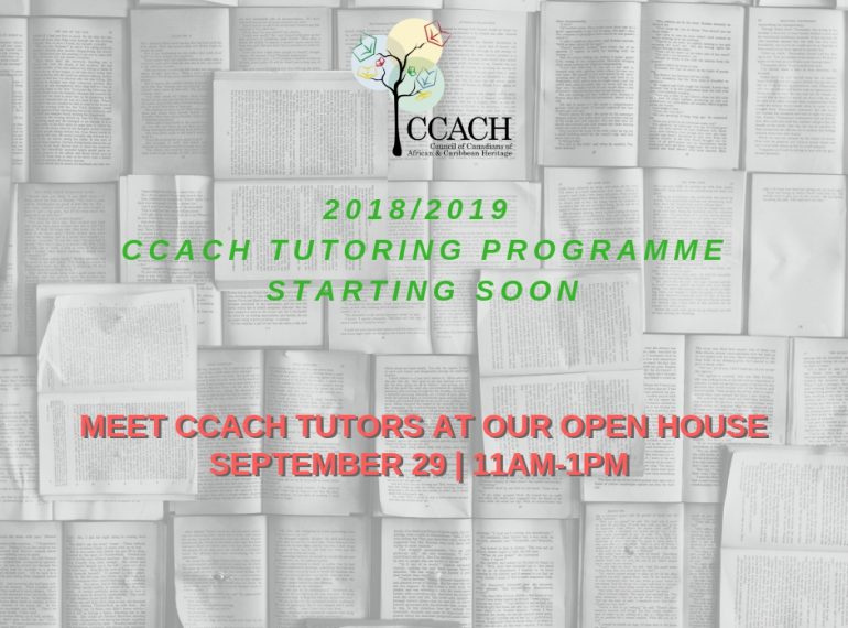CCACH Tutoring Programme Open House